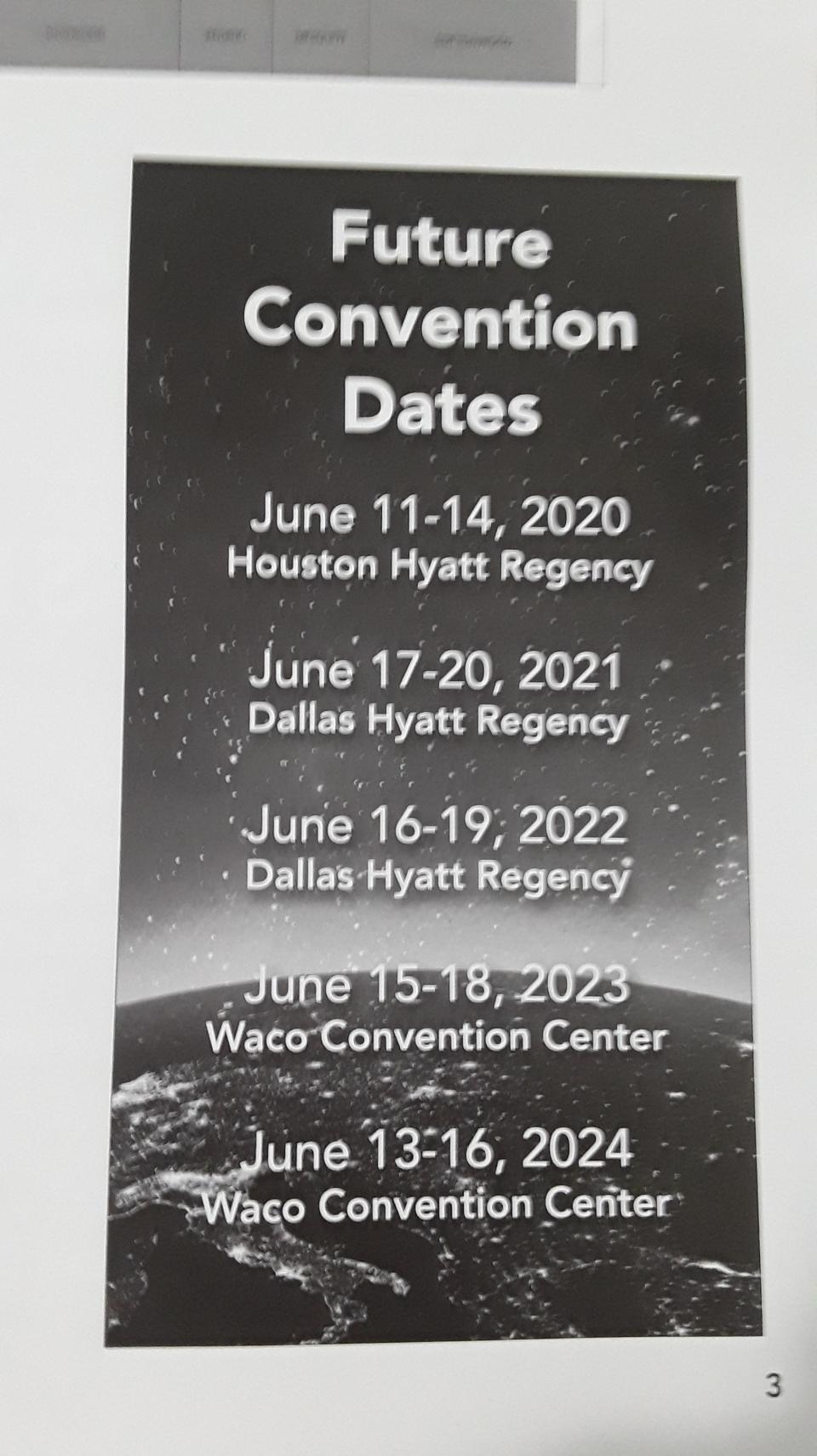 Future-Convention-Dates